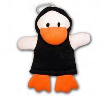 Mycí žínka penguin