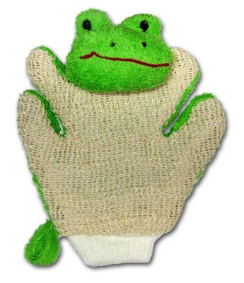 MYCÍ RUKAVICE-žába - zvìtšit obrázek