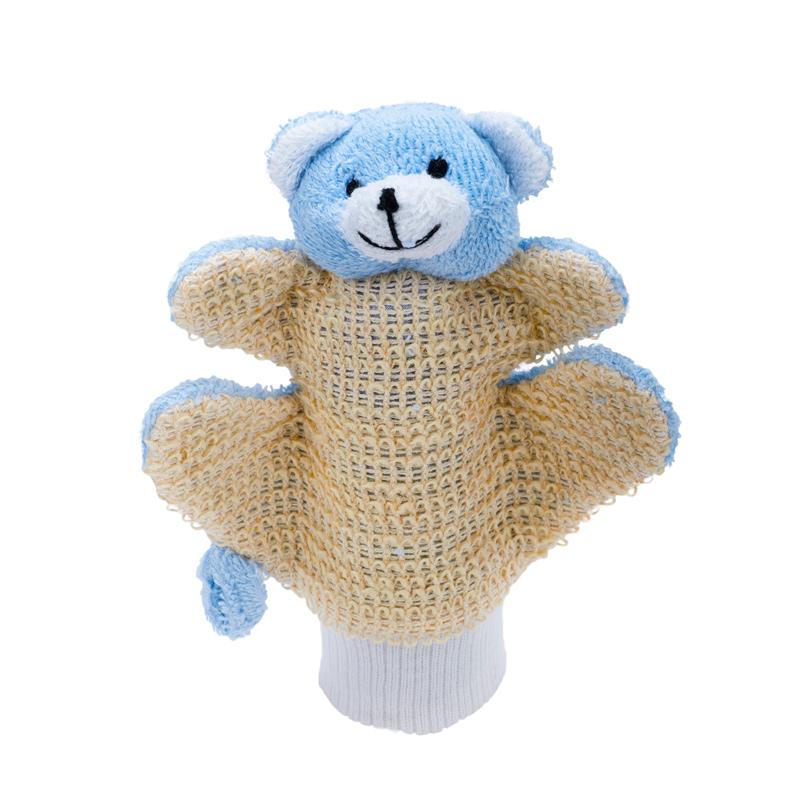 MYCÍ RUKAVICE-medvídek modrý - zvìtšit obrázek