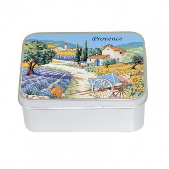 Toaletní mýdlo v kovové krabièce - levandule  - zvìtšit obrázek