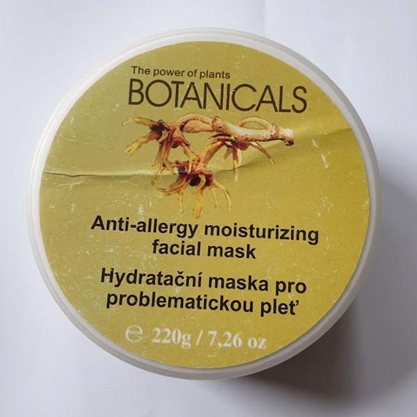 Botanicals - ple�ov� maska - po�kozena etiketa - zv�t�it obr�zek