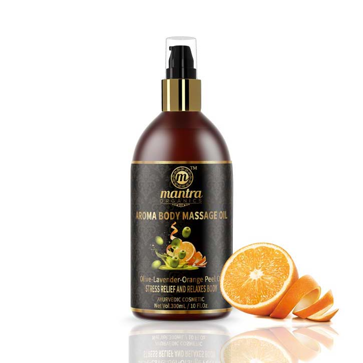 Masážní olej s pomeranèovou kùrou - zvìtšit obrázek